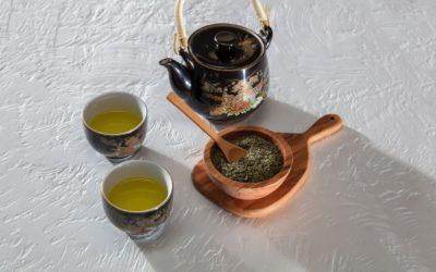 Buvez du thé vert !