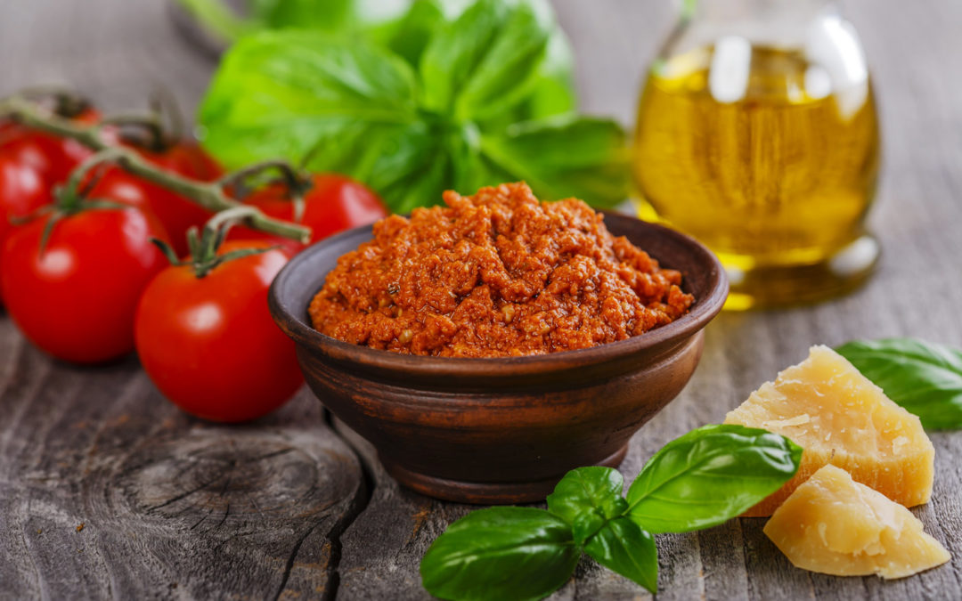 Pesto rosso maison