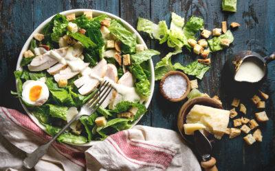 Salade de césar kéto