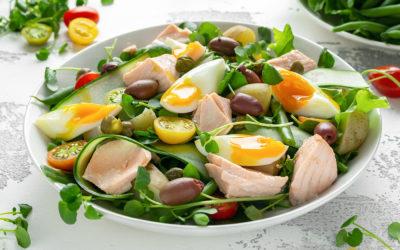 Salade de Nice aux anchois