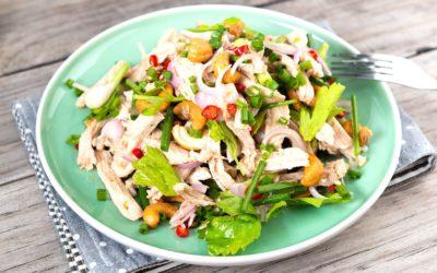 Salade de poulet Low Carb aux haricots verts